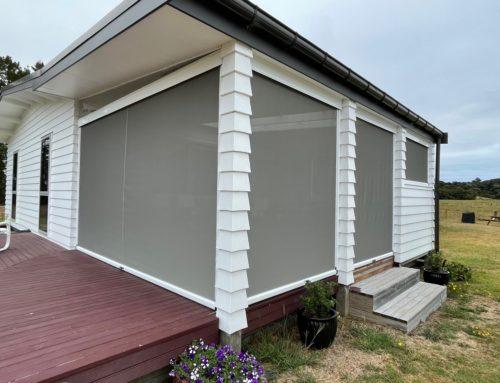 Ziptrak®  Blinds | Outdoor Rooms